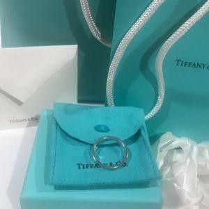 Tiffany & Co. Narrow Notes Love Ring